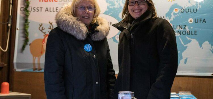 #14: Weihnachtsmarktstand von UNICEF