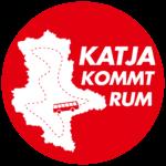 Jetzt geht's los: Katja kommt rum