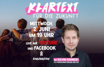 Klartext Spezial mit Kevin Kühnert
